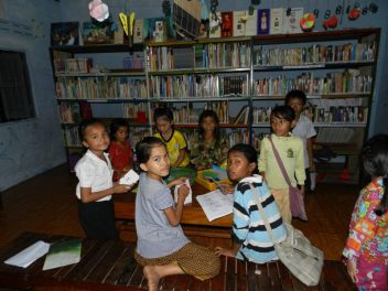 library at VDCA Oct. 2011